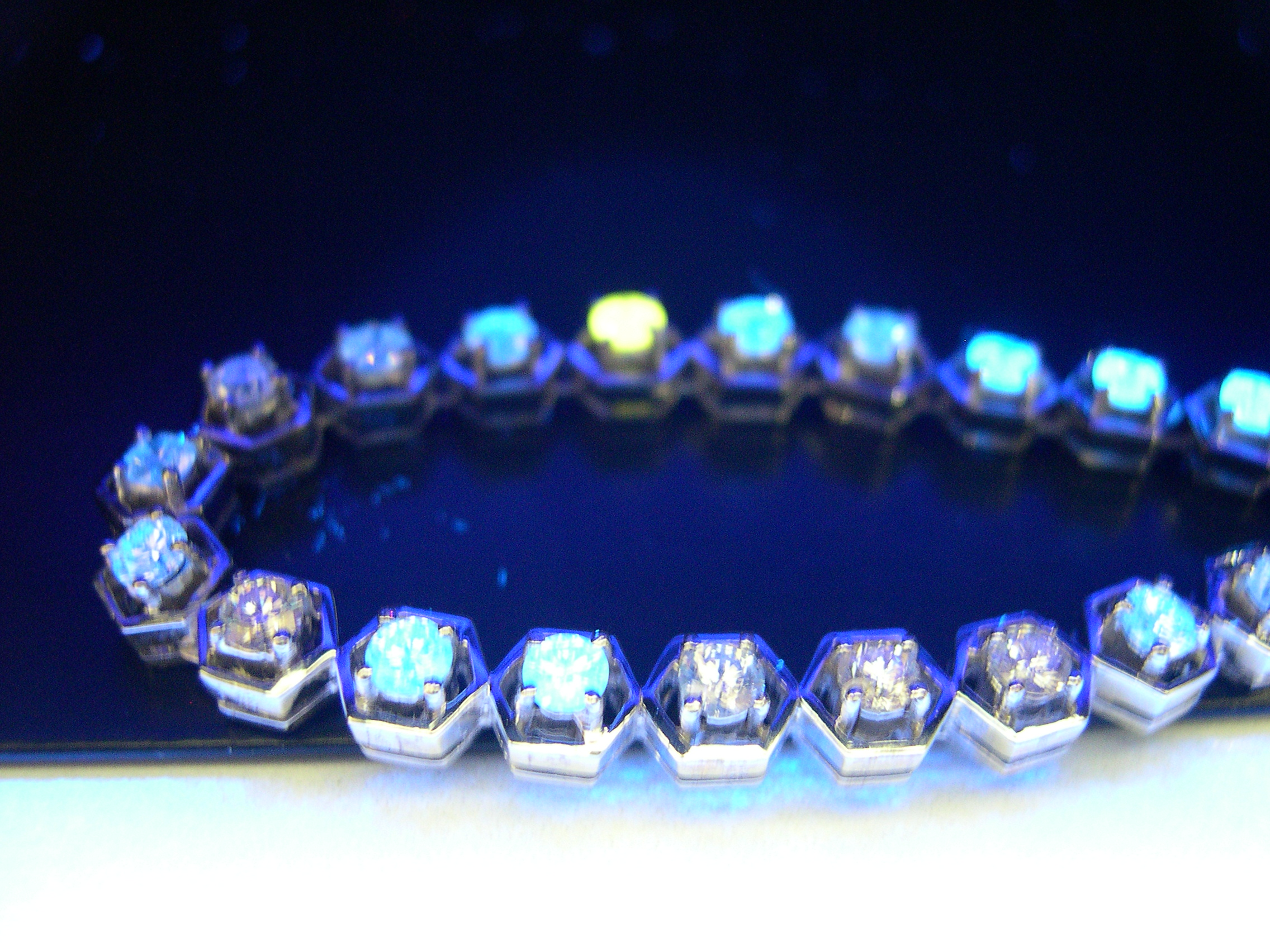 of development production in value technology optimizing world diamond leader fluorescence